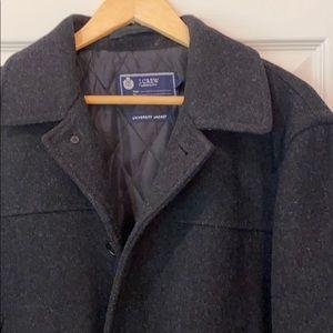 Jcrew men's wool university jacket
